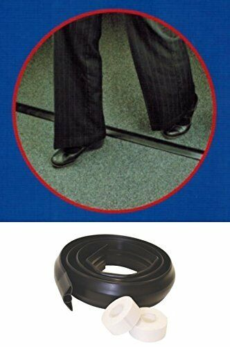 TOWER-Rubber-Floor-Cover-Cable-Protector-Trunking-Wire-Concealer-Black-1-8-Meter