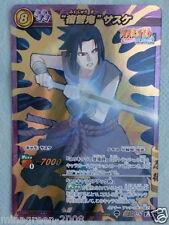 HTF Miracle Battle Carddass NARUTO 'Wild for Revenge' SASUKE NR05 SUPER OMEGA 28