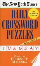 New York Times Daily Crossword Puzzles (Tuesday), Volume I by Nyt, Good Book