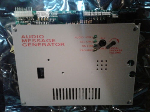 Refurbished NOTIFIER AMG-E Audio Message Generator