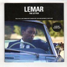 (HB227) Lemar, The Letter album sampler - DJ CD