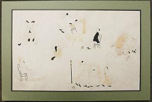 100% De Qualité Dessin Original Illustrateur Charles Martin Montpellier 1910 Sport Boxeurs Boxe Gagner Les éLoges Des Clients