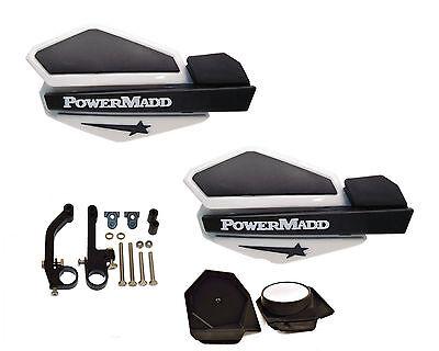 Powermadd Fuzion Handguards /& Mount Kit Snowmobile