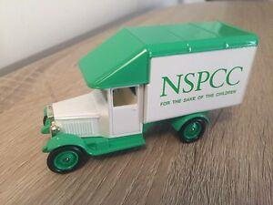 Lledo NSPCC For The Sake Of The Children Morris Parcels Van - edmonton, London, United Kingdom - Lledo NSPCC For The Sake Of The Children Morris Parcels Van - edmonton, London, United Kingdom