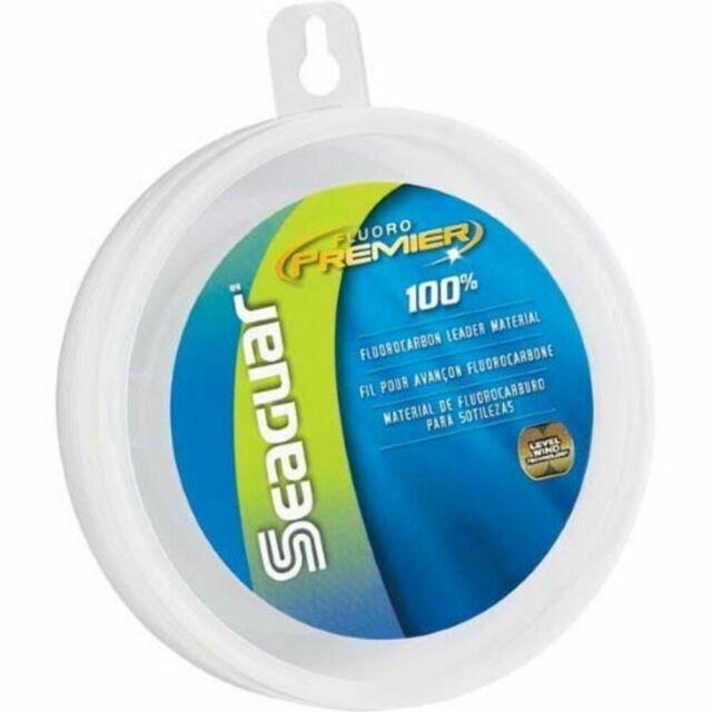 130 lb Seaguar 100/% Fluorocarbon WIND-ON Leader