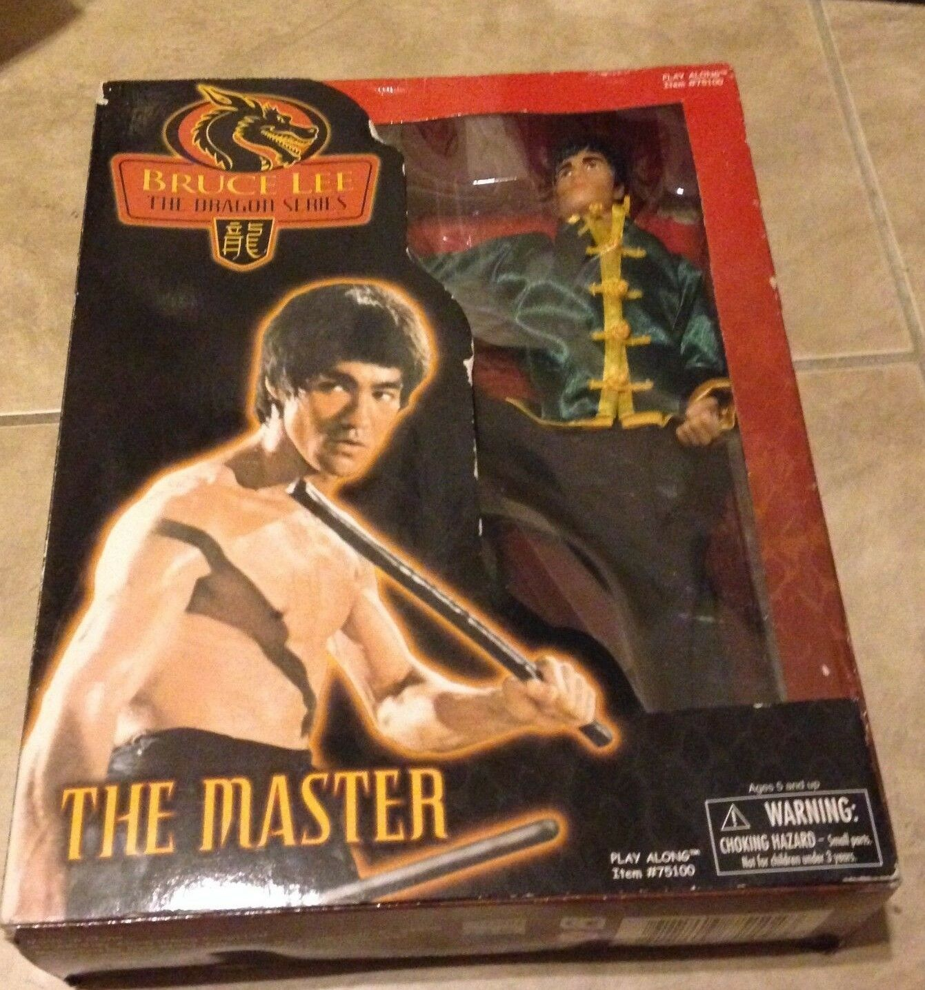 Bruce Lee Dragon Series The Master 12  Limited Edition Figure NEW factory sealed