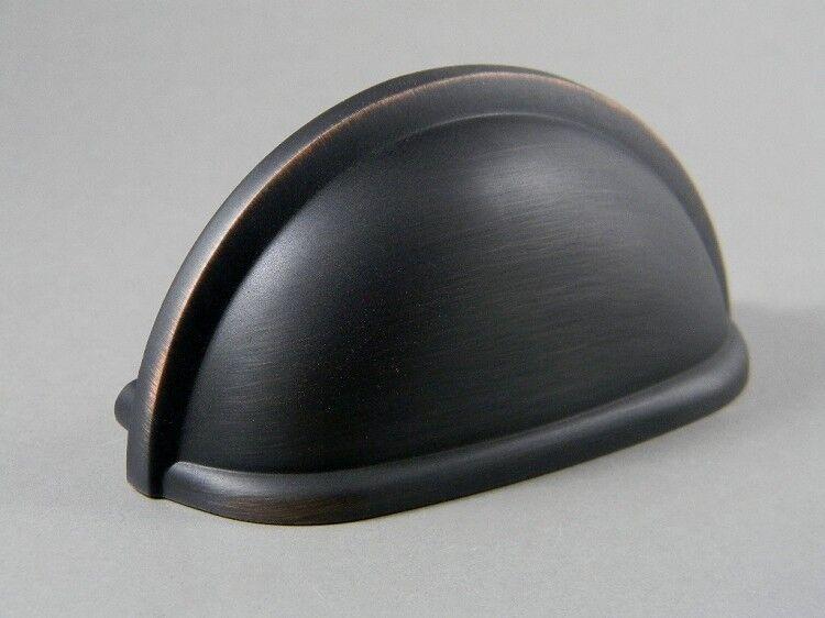 75 Oil Rubbed Bronze Bin Cup Pull 3