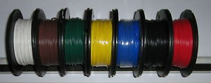 1m  x 4mm WIRE (1.84mm2) 28Amps  BLACK or RED,YEL,GRN, BLUE,BR.WHITE,ORANGE.GREY