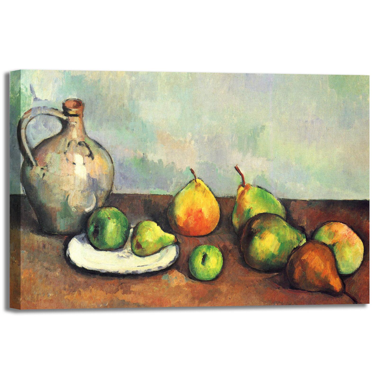 Cezanne natura morta 47 quadro stampa tela dipinto con telaio arroto casa design