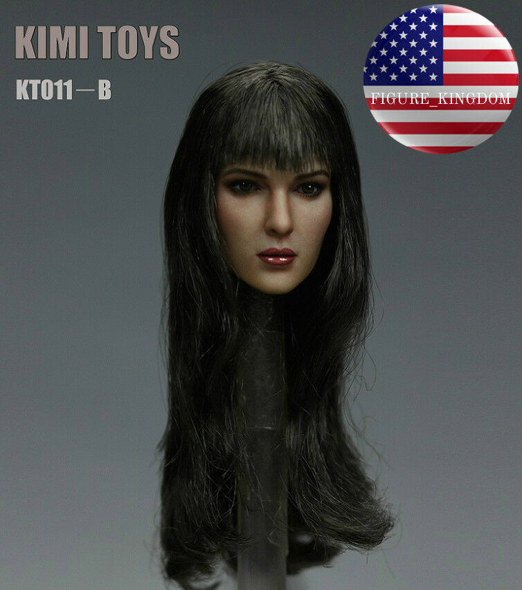 1 6 Female Head Sculpt KIMI KT011B For For For 12  TBLeague PHICEN HotToys Female Figure fd43b0