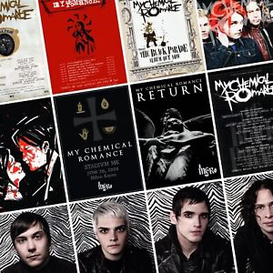 MY-CHEMICAL-ROMANCE-The-Return-2020-Tour-PHOTO-Print-POSTER-Black-Parade-Gerard