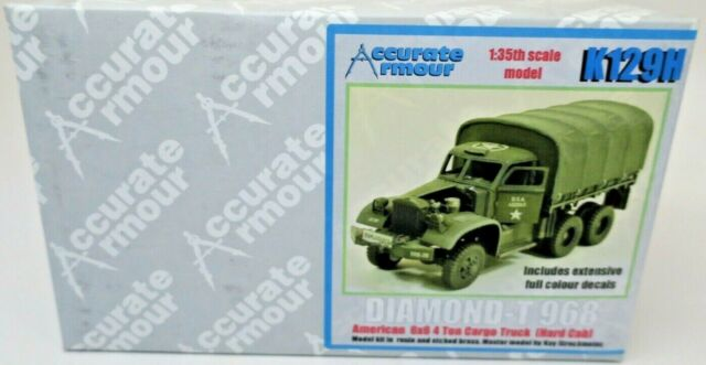 Accurate Armour Diamond-T 968 6X6 1/35th Scale Complete Resin Kit P/N: K129H
