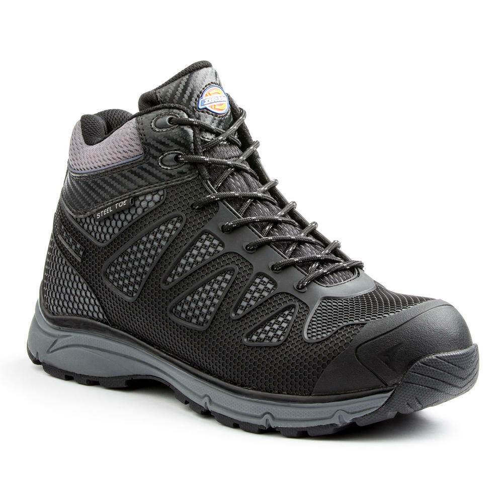 Dickies Men's Fury Steel Toe Exo-Lite Safety shoes DW6725 - Black SIZE 8.5