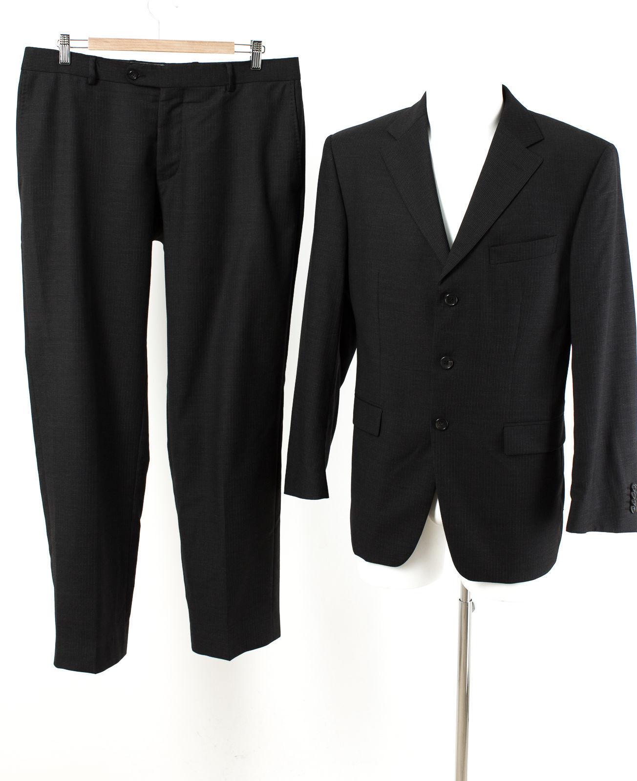 Windsor Anzug Gr. 25 (M Kurz)   Wolle Sakko Hose Geschäft Suit