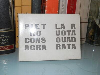 Pietro Consagra – La ruota quadrata – All'insegna del pesce d'oro – 1976