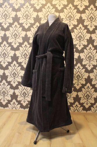 Joop! Uomo Cappotto balneare 1647 Kimono 767 ANTRACITE 50/52 Vestaglia