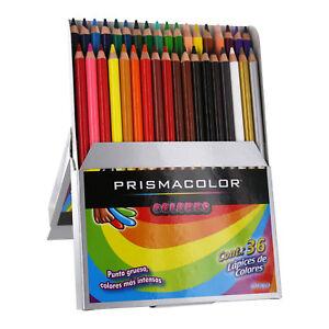 prismacolor colors scholar colored pencil set assorted colors 36