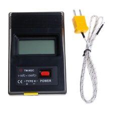 Maschine Motor Thermometer Außen Innen Hygrometer K Typ LCD Digital Anzeiger