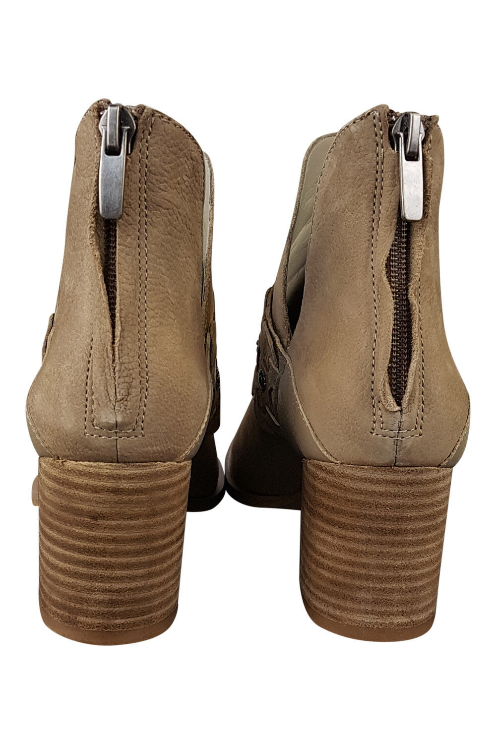 *NINE WEST* DANBIA TAN M) BROWN ANKLE BOOTS (6 M) TAN 149e9f