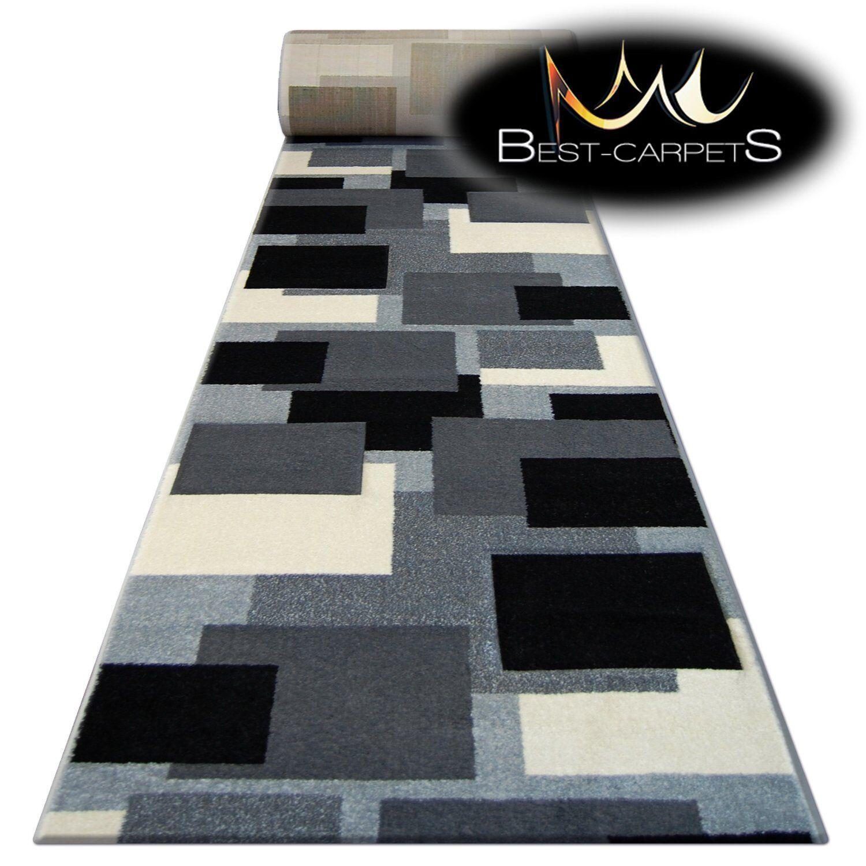 Tapis,Pilly 8404 Crème / Anthracite Moderne Escaliers Largeur 70cm-100cm 70cm-100cm Largeur Extra 9e4db2