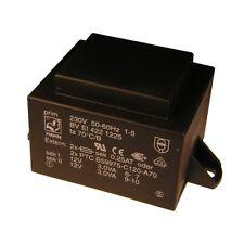 Hahn Print Trafo 230V Printtrafo 6VA 2x 12V Netztrafo Transformator 853663