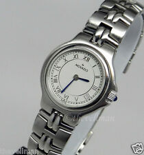Womens Ladies Swiss Authentic Movado Olympian 0603919 Stainless Steel Watch
