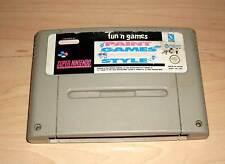 Super Nintendo Spiel SNES Game Paint Games Music Style - Fun 'n Games