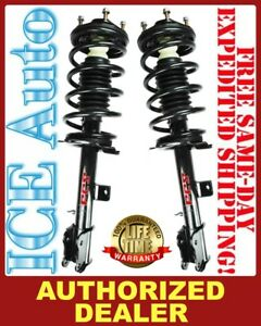 Front Left /& Right Struts w// Coil Springs FCS Set for Toyota Sienna 2007-2010