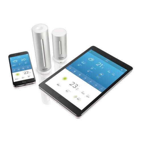 QIVICON RWE SmartHome Z-Wave Amazon Alexa NETATMO NWS01-EC Wetterstation kompa