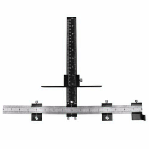 1 xadjustable position outils Armoire installation matérielle Jig woodworking tool
