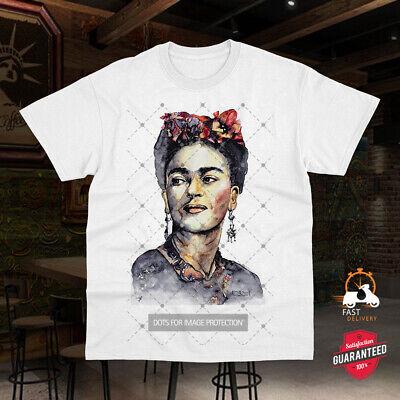 Frida Kahlo T Shirt  Artwork T Shirt Drawing Ladies//Unisex Tee Top 870