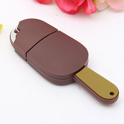 32GB Chocolate Ice Cream Model USB 2.0 Flash Memory Stick Smart Storage U Disk