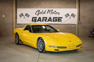 2002 Chevrolet Corvette Z06, 405 HP, LOW KMS - 59KM, 6 SPD, LS6, Super Clean!!