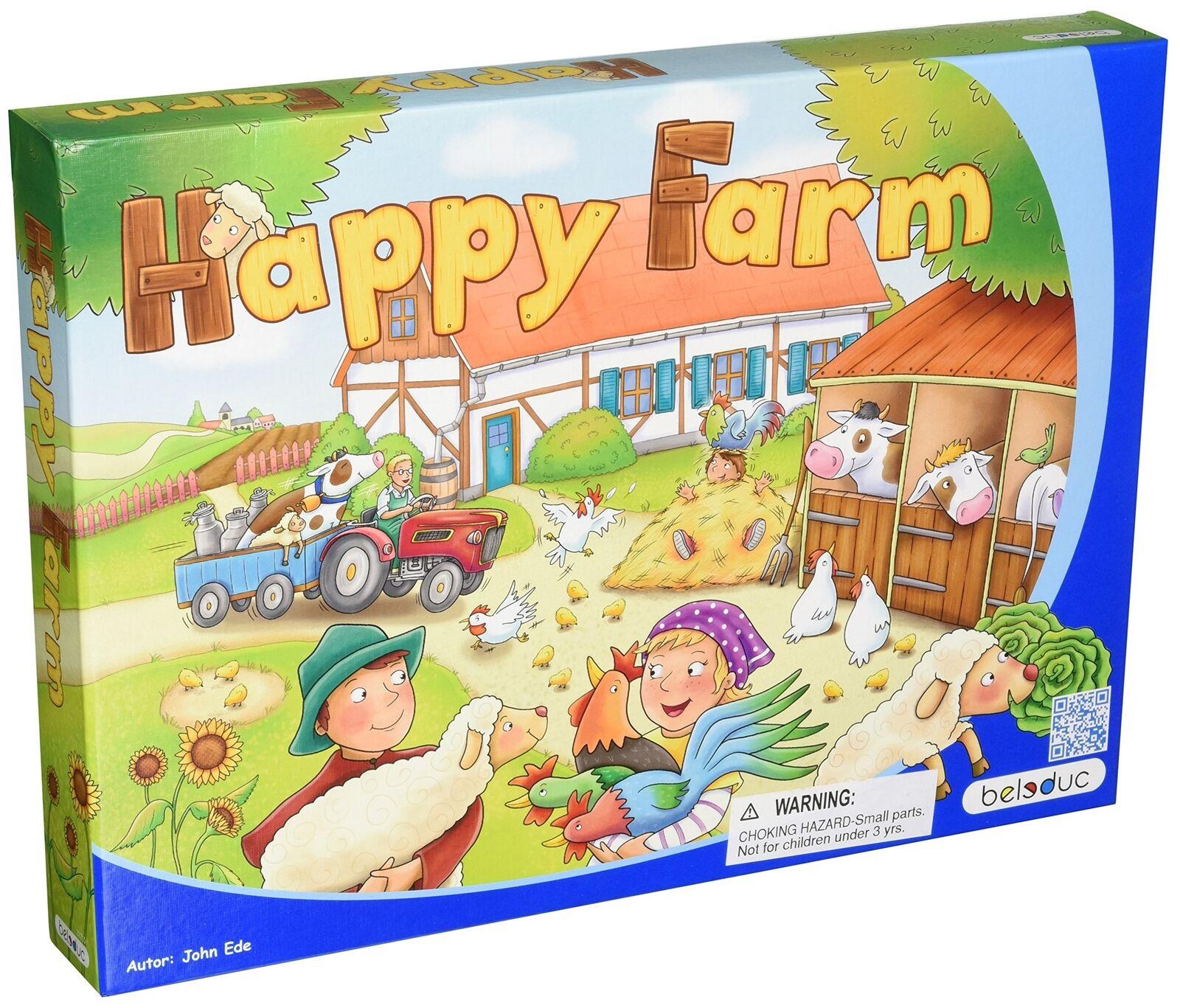Beleduc lernspielwar. GmbH BEL22710 Happy Farm bambini gioco