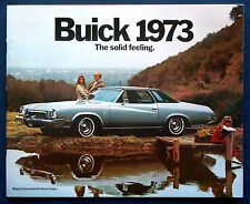Prospekt brochure 1973 Buick Regal * Century * LeSabre * Riviera (USA)