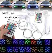 RGB 70MM Multi-Color 5050 Flash LED SMD 12V Angel Eyes + Remote Control