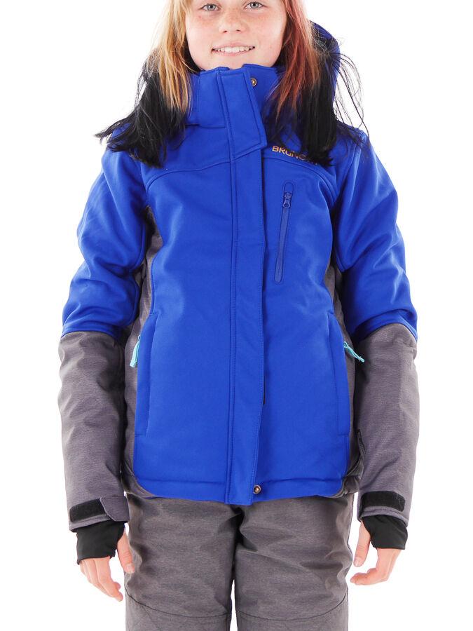 Brunotti Snowboardjacke Winterjacke Jexilles blau Kapuze isolierend