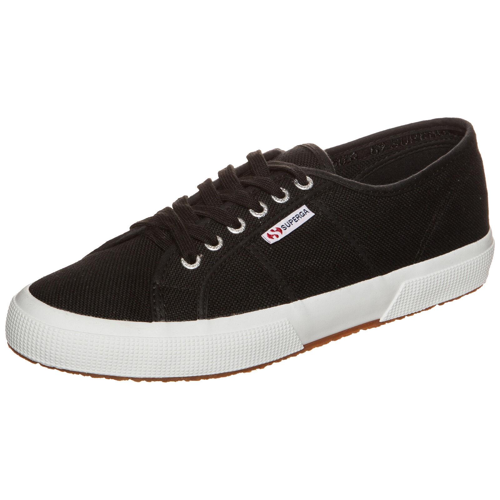 Superga 2750 Cotu Classic Sneaker Schwarz NEU Schuhe Turnschuhe