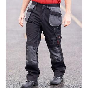 Nouveau Lee Cooper Amovible étui Poches Pantalon Cargo Workwear Homme Travail Pantalon-afficher Le Titre D'origine Oarpiabv-07230806-882628277