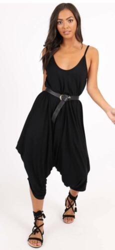 maniche Cami con da oversize Babai donna lunghe oversize Hareem Salopette Strappy di WTF8wWq
