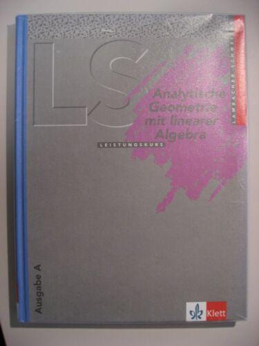 1 von 1 - Lambacher Schweizer Analytische Geometrie mit linearer Algebra Leistungskurs