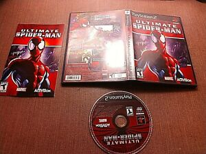 Sony-PlayStation-2-PS2-CIB-Complete-Tested-Ultimate-Spider-Man-Ships-Fast