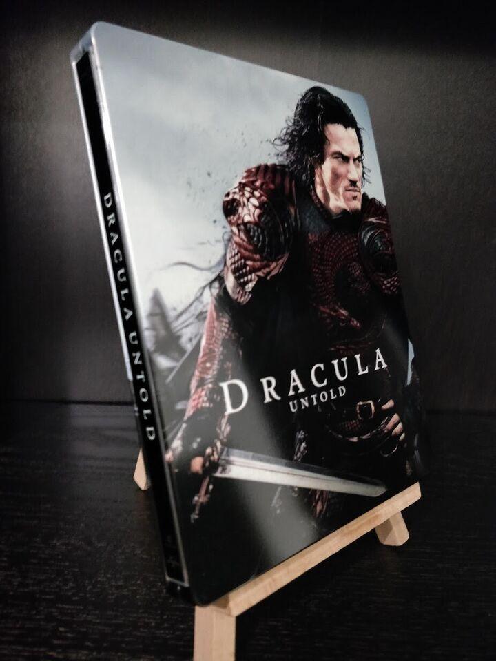 Dracula Untold Steelbook, Blu-ray, gyser