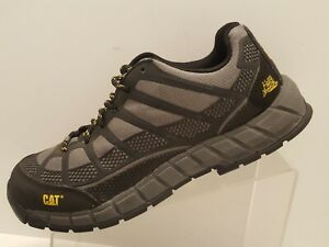 Cat-Streamline-Composite-Toe-Work-Shoe-Mens-Sz-8-5-M-Width-P90285-Gray-Black