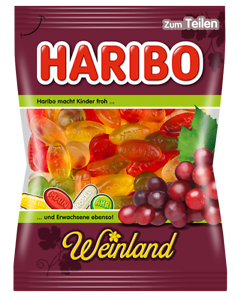 Details about Haribo Weinland Wine Gums Gummi Candy 200g (Germany Import)