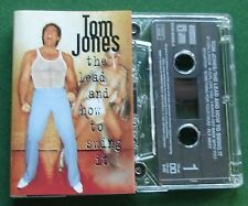Tom Jones The Lead and How to Swing It inc Fly Away + Cassette Tape - TESTED