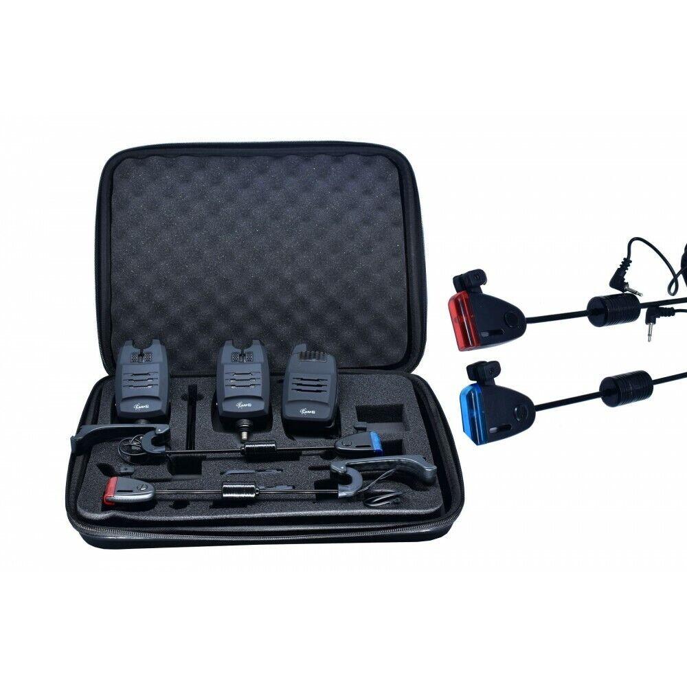 Carpon morso indicatore Radio Set 2 Swinger Set 1 1 valigetta di trasporto 180 M
