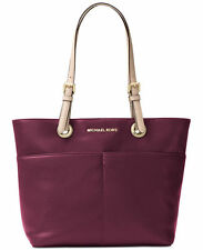 MICHAEL KORS LEDERTASCHE Bedford TZ Pocket Tote plum