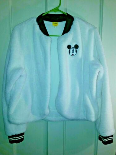 Disney Junior Womens Size Large Mickey Mouse Fuzzy