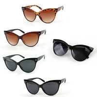 Hot New Ladies Womens Oversized Cat Eye Sunglasses Vintage Style Retro Shades